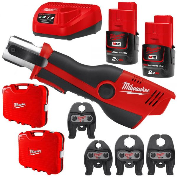 Milwaukee | Cheap Tools Online | Tool Finder Australia Crimpers and Presses M12HPT-1532K lowest price online