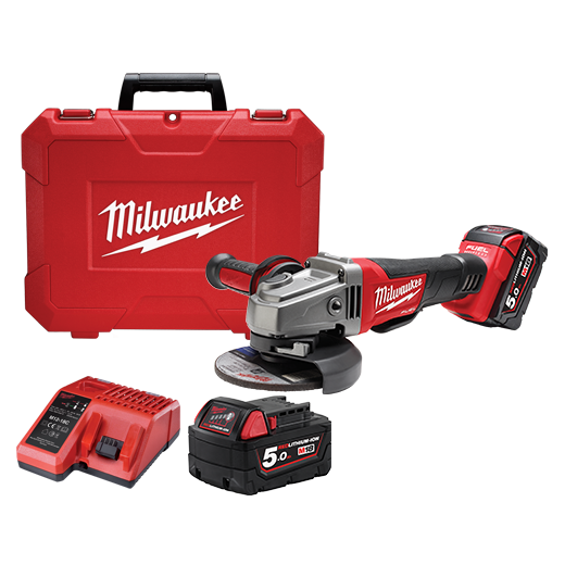 Milwaukee | Cheap Tools Online | Tool Finder Australia Grinders M18CAG125XPD-502C cheapest price online