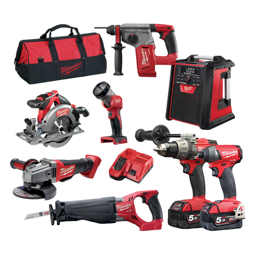 Milwaukee | Cheap Tools Online | Tool Finder Australia Kits M18FPP8A-502B lowest price online