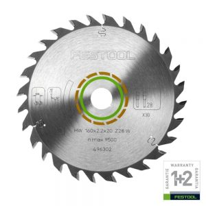 Festool | Cheap Tools Online | Tool Finder Australia Saw Blades HW 160X2.2X20 W28 lowest price online