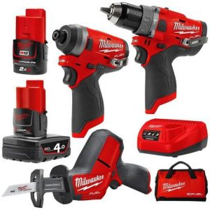 Milwaukee Kits M12FPP3G-421B best price online
