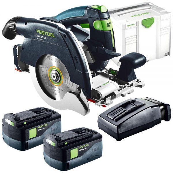 Festool | Cheap Tools Online | Tool Finder Australia Circular Saws HKC 55 EB-Plus Li 5.2Ah lowest price online