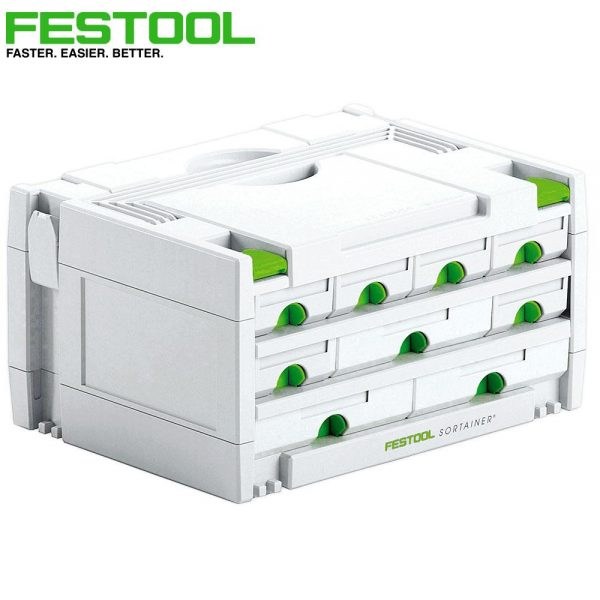 Festool | Cheap Tools Online | Tool Finder Australia Tool Box Organisers SYS 3-SORT/9 cheapest price online