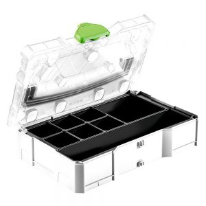 Festool | Cheap Tools Online | Tool Finder Australia Tool Box Organisers SYS-MINI 1 TL TRA UNI best price online