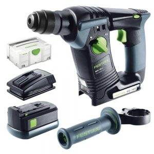 Festool | Cheap Tools Online | Tool Finder Australia Rotary Hammer Drill BHC 18 Li Set lowest price online