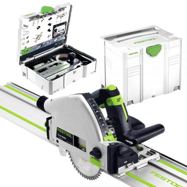 Festool | Cheap Tools Online | Tool Finder Australia Track Saws TS 55 REBQ-Plus FS GR Set best price online