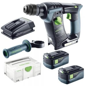 Festool | Cheap Tools Online | Tool Finder Australia Rotary Hammer Drill BHC 18 Li 5.2 Plus 5.2Ah lowest price online