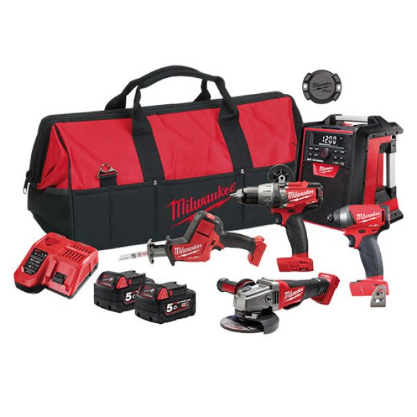 Milwaukee | Cheap Tools Online | Tool Finder Australia Kits M18FPP5J-502B cheapest price online