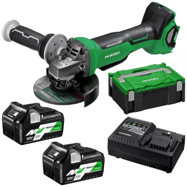 Hikoki   Cheap Tools Online   Tool Finder Australia Angle Grinders G3613DB(HRZ) cheapest price online