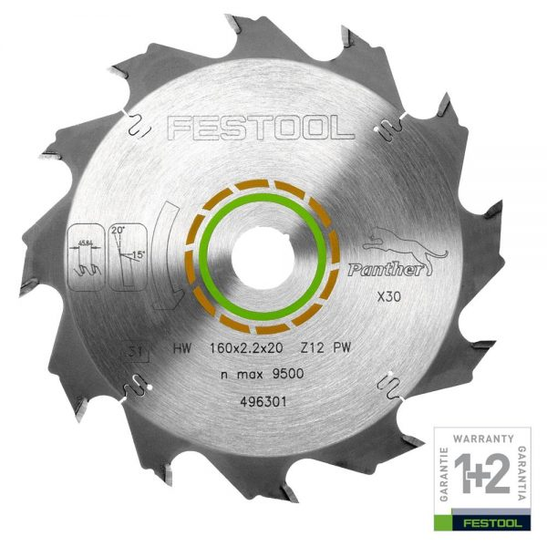 Festool | Cheap Tools Online | Tool Finder Australia Saw Blades HW160X22X20PW12 lowest price online