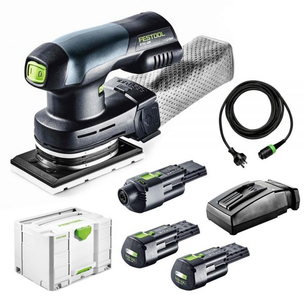 Festool | Cheap Tools Online | Tool Finder Australia Sanders RTSC400SET best price online